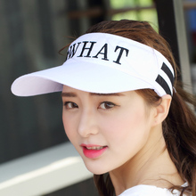 Summer Adjustable Visors Sunscreen Golf Caps Sporty Golf Sun Hat Baseball Hat Tennis Hats Man and Women empty top Snapback Cap