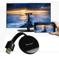 Wecast 2.4 5G Wireless WIFI TV Stick Miracast Airplay DLNA TV Dongle C68 RK3036 Mirroring 1080P HDMI Display Adapter Connector