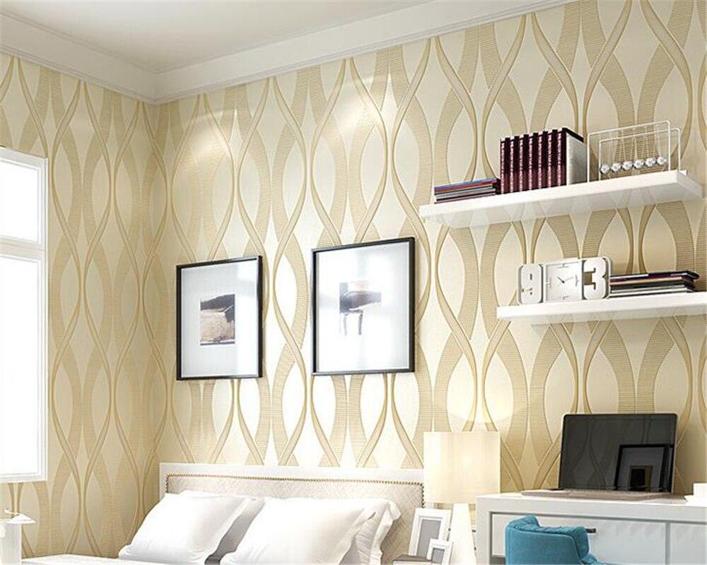 Beibehang Modern 3D Stereo Striped  TV Background Wallpaper Fashion Purple Living Room Wallpaper Home Decor 3d Wallpaper Roll battlefield 3 или modern warfare 3 что