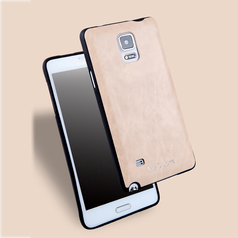 For Samsung Galaxy Note 4 Case Soft TPU + PU Leather Back Cover For Samsung N910F N910C N910FD N910FQ N910H N910G N910W8 Case