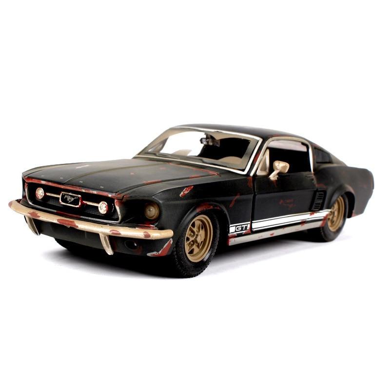 Ford 1:24 Oude Versie 1967 Mustang GT Legering Automobiel Simulatie - Auto's en voertuigen