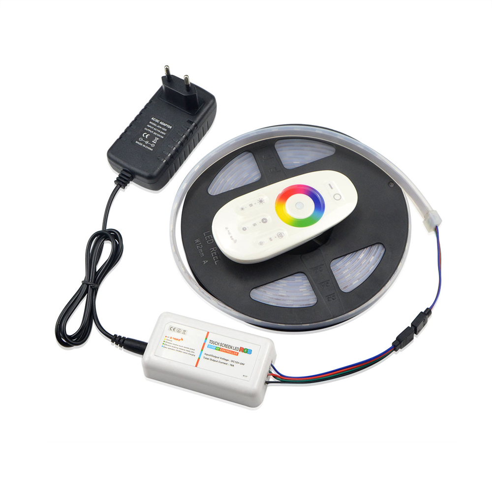 IP67 Waterproof RGB LED Strip Light 5050 SMD LEDs Tape ...