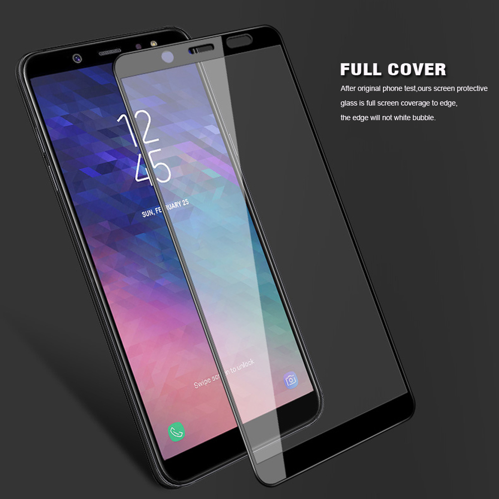 Full Cover Screen Tempered Glass for Samsung Galaxy J3 J4 J6 J7 J8 2018 J530 2017 Eurasian version Glass Screen Protector Film in Phone Screen Protectors from Cellphones Telecommunications
