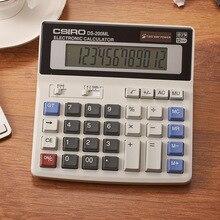 Новые Прибытие DS-200ML Офиса, используя Мути функция калькулятор Большие ключи двоевластие компьютер Солнечный калькулятор 12 Цифр