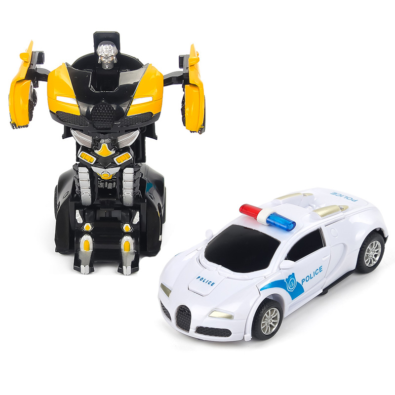 Pull Back Car Model Figure Toy Children Robot Toy Transformation Anime Series Action Figure Toy Robot Car ABS Plastic Robot dinosaur transformation plastic robot car action figure fighting vehicle with sound and led light toy model gifts for boy