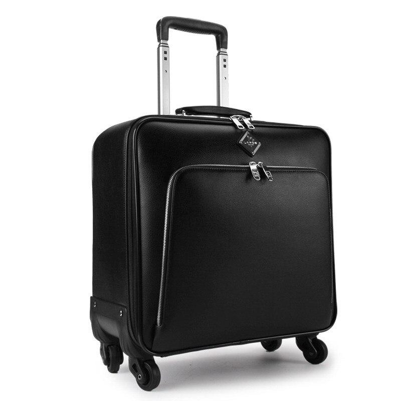 20 pouces/22 pouces bagages commerciaux roues universelles bagages mode voyage court voyage bagages valise mâle chariot bagages