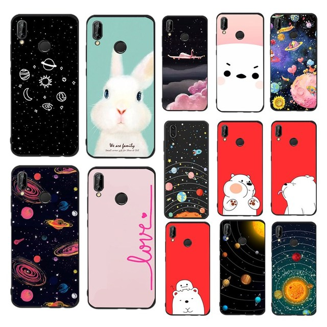 TPU Soft Case For Huawei Mate 10 Lite Black Silicon Printing Drawing Phone Cases Cover For Huawei Mate 10 Lite
