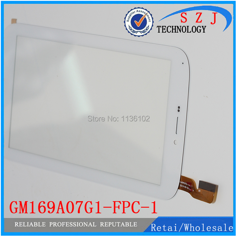 (Ref: GM169A07G1-FPC-1 ) New 7 inch Tablet Capacitive touch screen digitizer glass touch panel Sensor Replacement Free Shipping black new for 7 tablet fpc ctp 0700 066v7 1 capacitive touch screen panel digitizer glass sensor replacement free shipping