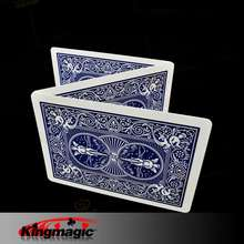 5pcs Magic Card Special Bicycle Card (Double Blue Back) Magi
