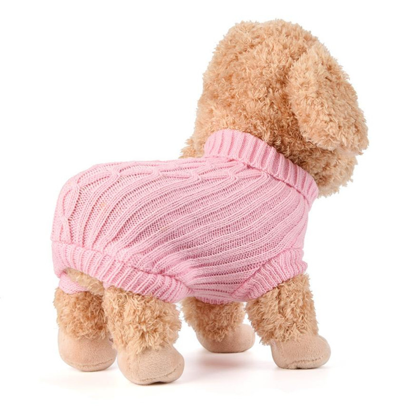pet dog sweater winter warm christmas clothing costume small Pet Dog Cat Knitted Jumper Acrylic Coat Sweater New Year clothing