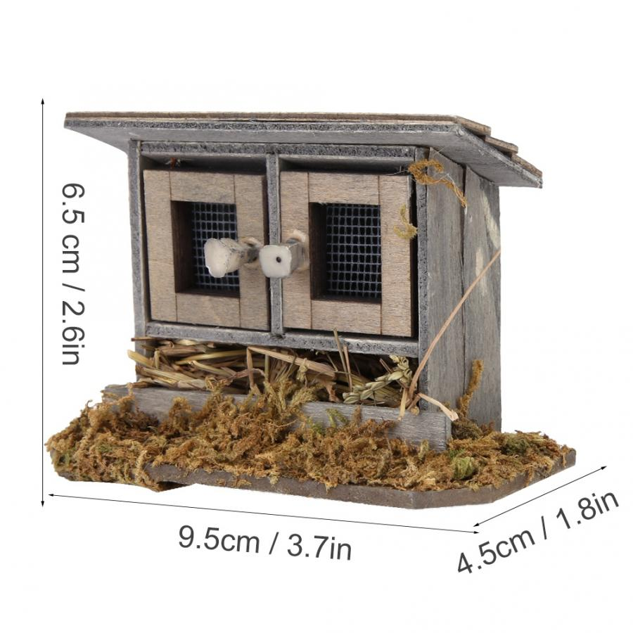 Chickens /& Cows  Miniature Dollhouse Doll House Picture