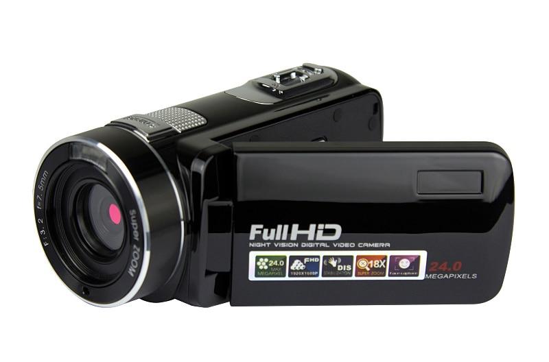 Free Shipping Winait 2017 Newest Night Vision Digital Video Camera Full Hd 1080p Camera Max 24 Mega Pixs Digital Camcorder