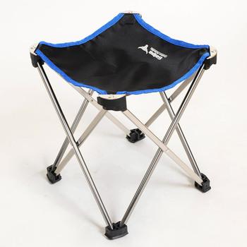 Odkryty składany stołek przenośne krzesło salon ultralekki lotnictwa Mazza połowów ze stopu aluminium C3 camping plaża meble tanie i dobre opinie Aotu China Chair 7050 aluminium alloy Angling chair