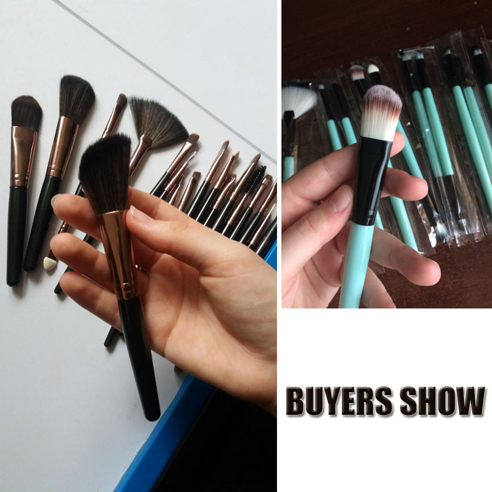MAANGE 6 to 18Pcs Makeup Brush Kit for Eye Makeup and Lip Makeup including Blending of Foundation and Blush 4