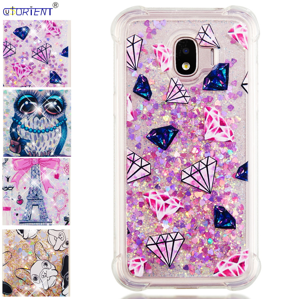For Samsung Galaxy J2 Pro 2018 Grang Prime Pro Glitter Quicksand Phone Case Sm-j250m Sm-j250f/ds Bumper Cover Silicone Funda Easy To Lubricate Cellphones & Telecommunications
