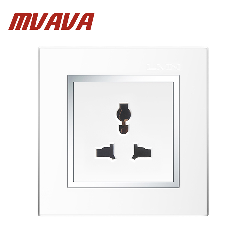 popular colored electrical outlets buy cheap colored electrical mvava multifunctional 3 pin wall socket electrical wiring light wall power plug outlet 110~250v