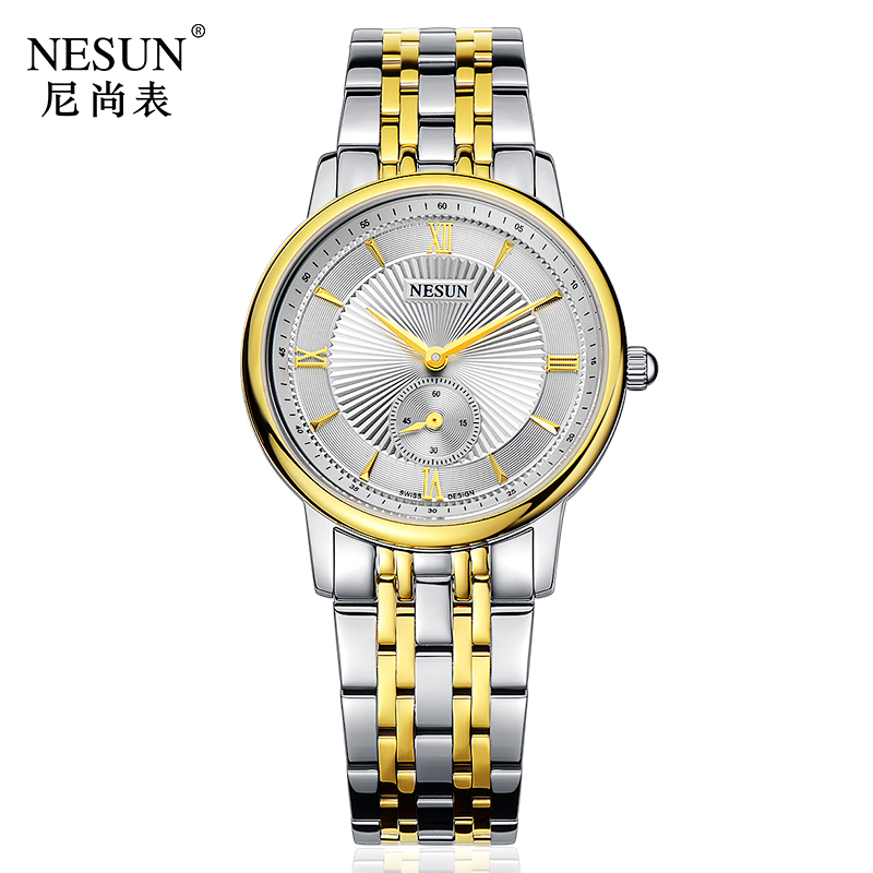 Nesun Switzerland Luxury Brand Watch Women Japan MIYOTA Quartz Movement Women's Watches Stainless Steel Couple's clock N8501-SW3 nesun switzerland luxury brand watch men japan miyota quartz movement lover s watches full stainless steel women clock n8501 sl3
