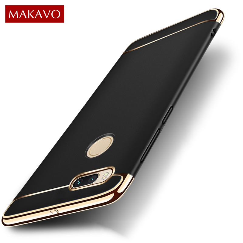 MAKAVO For Xiaomi Mi A1 Case MiA1 3in1 Matte Fundas Hard Back Cover Creative Housing Phone Cases for Xiaomi Mi 5X Mi5X