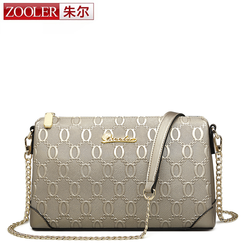 ZOOLER Genuine Leather Messenger Bag Classic Famous Brand Women Shoulder Bag Envelope Women Clutch Bag Small Chain Crossbody bag fashion brand pu leather messenger bag famous brand women shoulder bag envelope women clutch bag small crossbody bag
