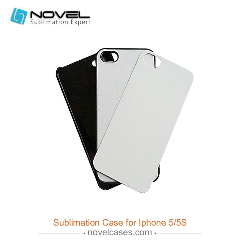 imágenes para 2D de Transferencia de calor de Plástico Duro Caso de la Cubierta Del Teléfono Móvil Para iPhone5