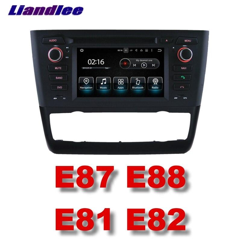 Lecteur multimédia de voiture Liandlee NAVI pour BMW série 1 E81 E82 E87 E88 2004 ~ 2013 écran tactile autoradio stéréo Navigation GPS