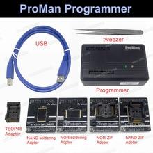 ProMan מקצועי nand פלאש מתכנת תיקון כלי עותק NAND ולא TSOP48 מתאם TL86 בתוספת מתכנת תכנות גבוהה מהירות
