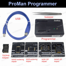 Proman professional nand 플래시 프로그래머 수리 도구 복사 nand nor tsop48 어댑터 tl86 plus 프로그래머 높은 프로그래밍 속도