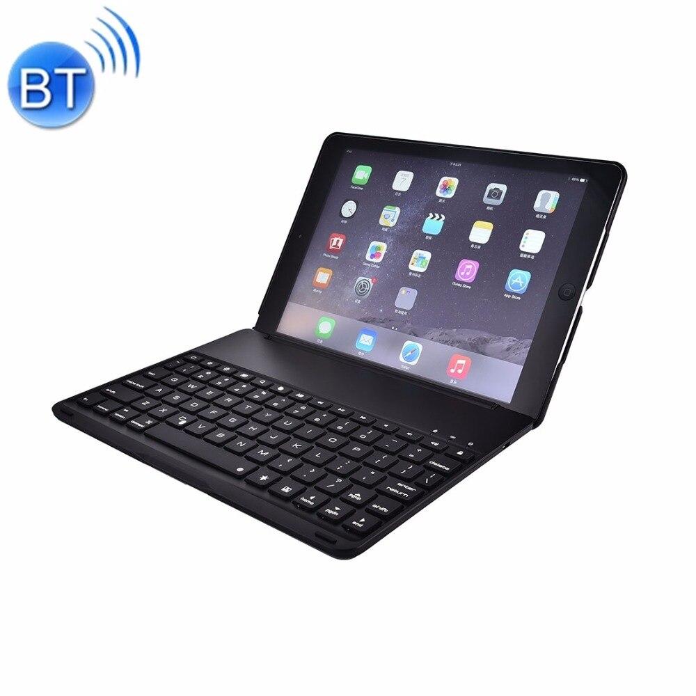 ФОТО For iPad Pro 9.7 inch Aluminium Alloy Wireless Bluetooth Backlight Keyboard Case Cover