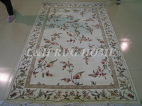 Free shipping 5.1'X8.1' 200 Line Hand-knotted Wool and silk Oriental Persian carpet handmade Persian carpet