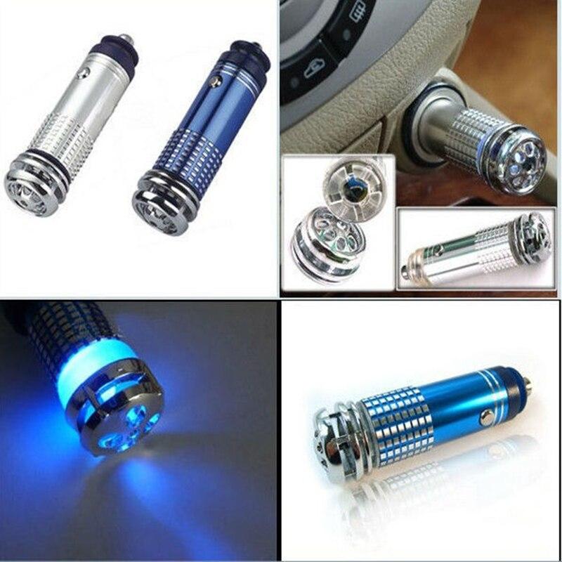 Car Ionizer Air Purifier Car-styling Air Ionizer Car Air Cleaner Car Oxygen Bar Air Freshener  недорого