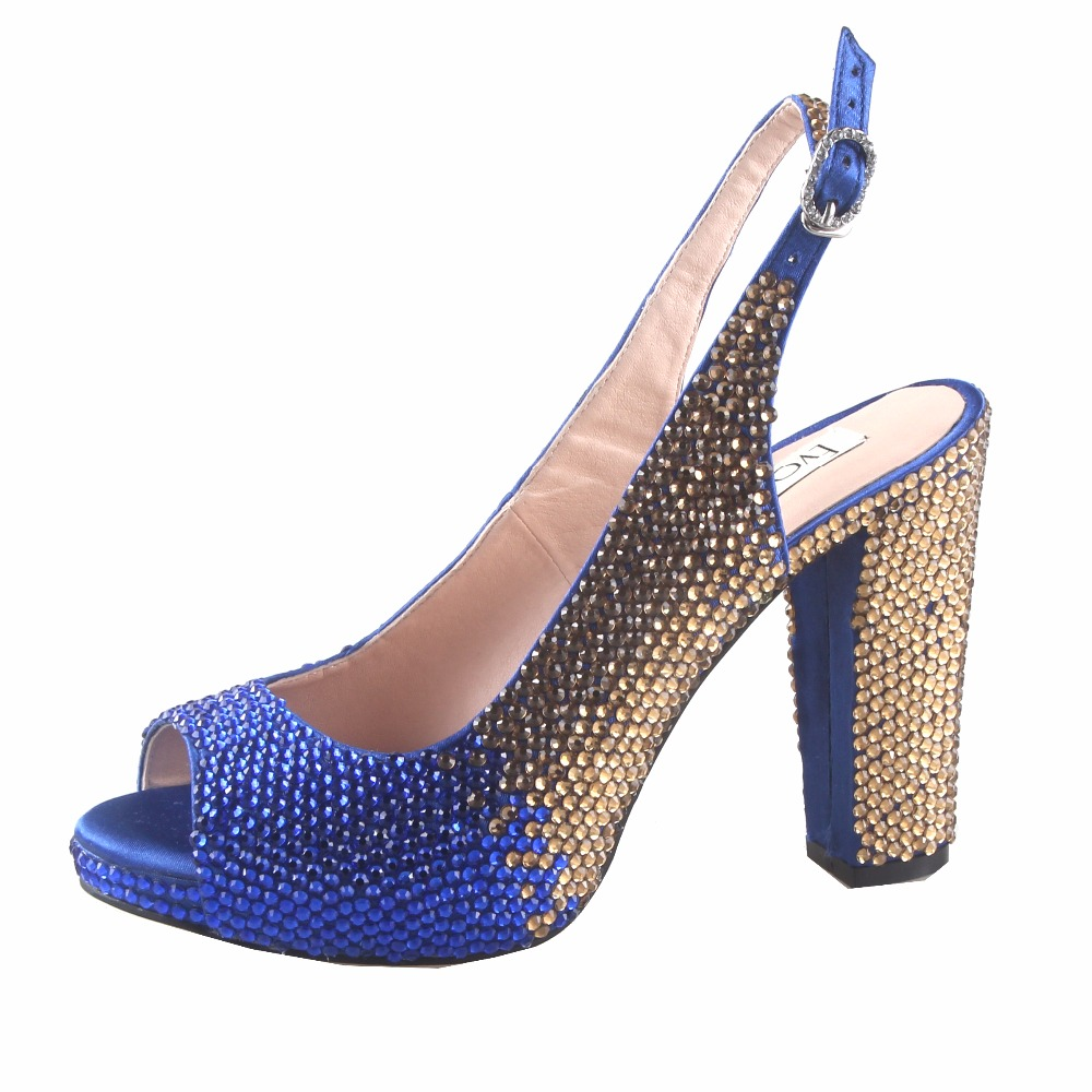 Cristal Africain Gold Or royal Custom De Escarpins Royal Blue Bleu Chs816 customize pink Gold Pompes wine Any Color Femmes Mariée Chaussures sliver Dhl yellow Orange navy gold blue Made lavander Silver mint white fuchsia Green peach Talon Bloc Mariage green Gold green Blue Robe Red purple ivory champagne turquoise 8x0xzqwS