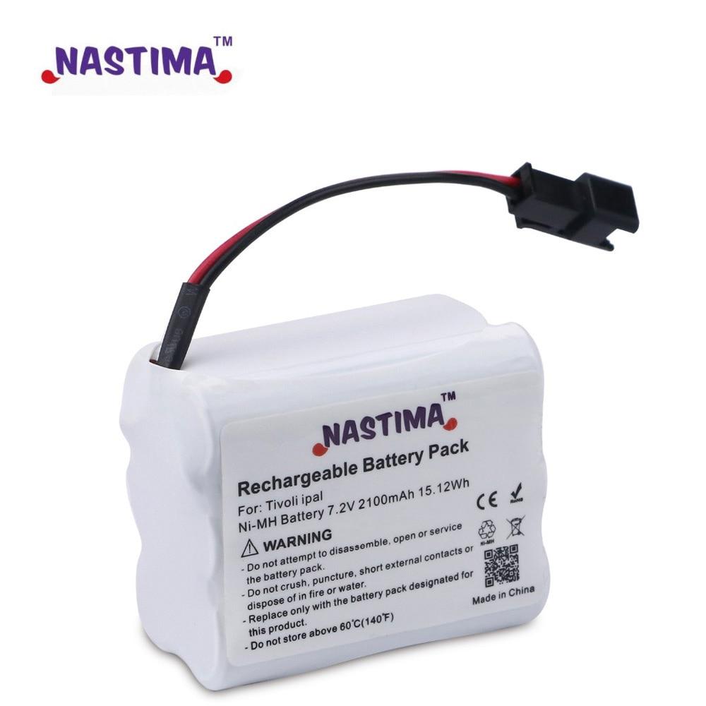 цена на NASTIMA 7.2V 2100mAh Ni-MH Battery Upgrade for Tivoli PAL/iPAL Radio(Fits MA-1, MA-2, MA- 3)