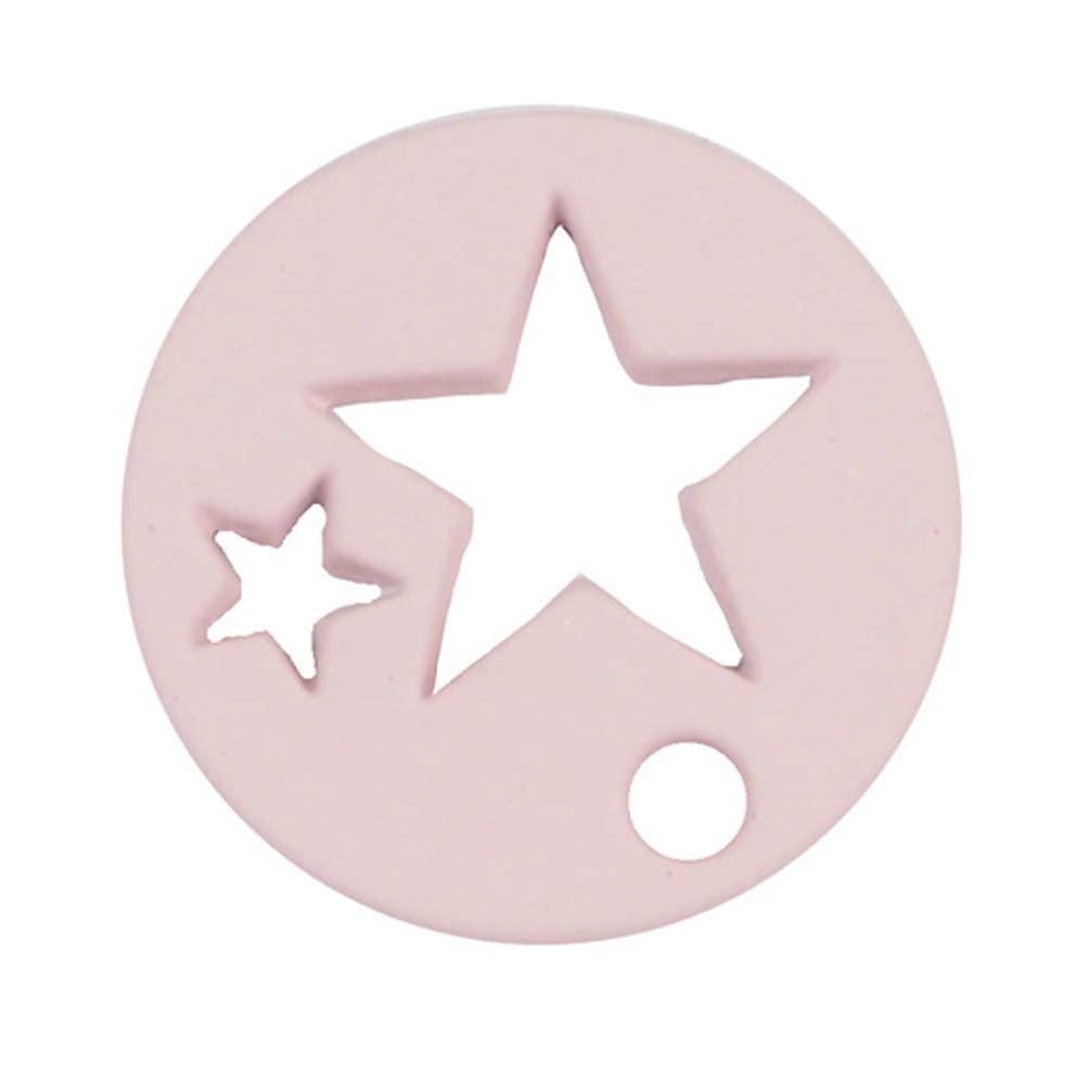 1 ชิ้น 2017 แฟชั่นเครื่องประดับ, 6 สี candy Hollow Star ขนาดเล็ก Charms จี้สำหรับ DIY สร้อยคอและสร้อยข้อมือต่างหู