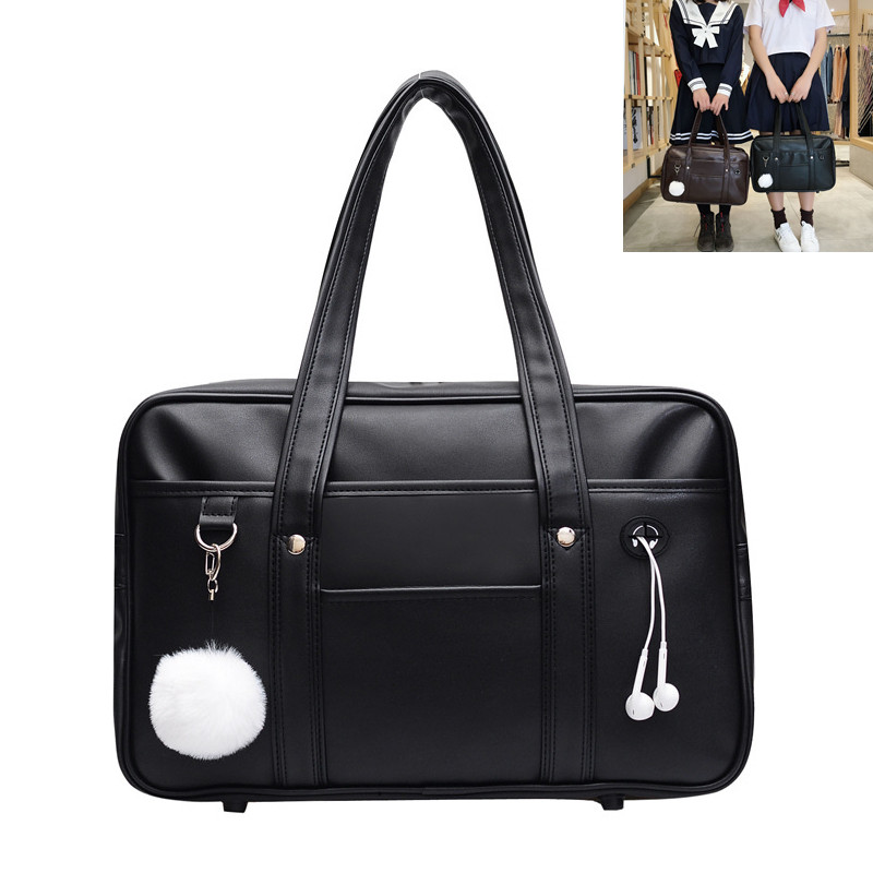 Big Eyes Cat Satchel Shoulder Bag Women Handbag Tote Halloween Accessories PU Leather School Girl