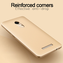 MyGeek Fine Matte Mobile Phone Case for xiaomi redmi note 4 Case note 3 Case Protective Back Cover