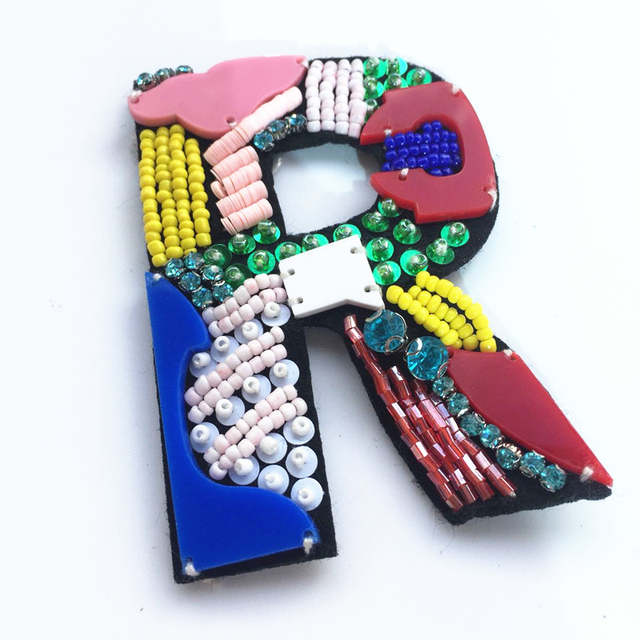 3d Letter Diy.Us 7 89 20 Off 3d Letter Rhinestone Sequined Bead Patch Drill Nail Clothing Diy Accessories Acrylic Hand Seam Drilling Accessories Parches In