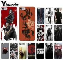 Yinuoda Walking Dead Season Pattern Coque Shell Phone Case for Apple iPhone 8 7 6 6S Plus X XS MAX 5 5S SE XR Cellphones yinuoda bull adventures coque shell phone case for apple iphone 8 7 6 6s plus x xs max 5 5s se xr cellphones
