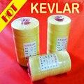 Alta calidad 3 # Kevlar 4 hebras £ 150 1000 m 500g productos superiores de grado extra de línea de la cometa de tracción