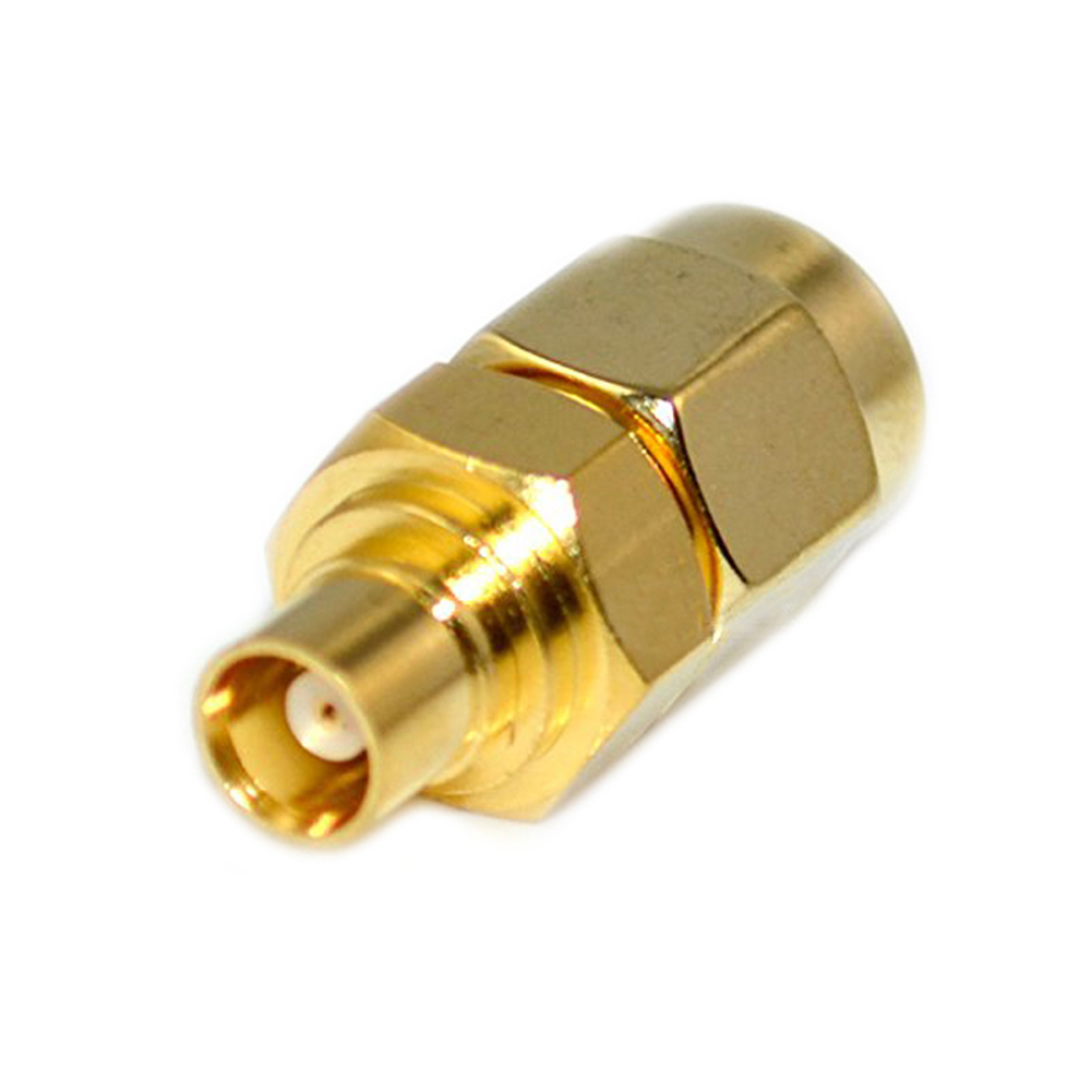 High Quality SMA Male Plug to MCX Female Jack Straight RF Coaxial Adapter Connector Convertor --M25 areyourshop sale 10pcs adapter bnc female jack to sma male plug rf connector straight gold plating