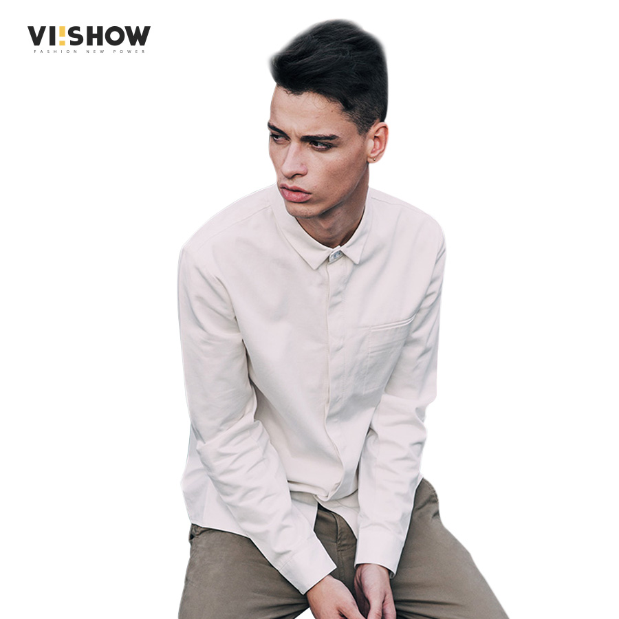 Buy viishow men 39 s camisa masculina brand for Mens slim fit long sleeve shirts