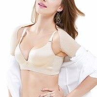 Yumdo delle Donne Nuovo Braccio Dimagrisce Shaper Invisibile Manica Lunga Body Shaper Nero Bianco Sostegno per La Schiena Postura Shapewear