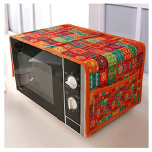 SRYSJS Ethnic Customs Cotton Microwave Oven Cover With Stora