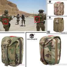 цены Survival Product Military First Aid Kit Emerson Medic Pouch Molle airsoft special force gear EM6368