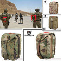 Survival Product Military First Aid Kit Emerson Medic Pouch Molle airsoft special force gear EM6368