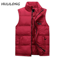 Middle Aged Men S Fall Winter Men Vests Male Father Loaded Thick Warm Waistcoat Vest Male