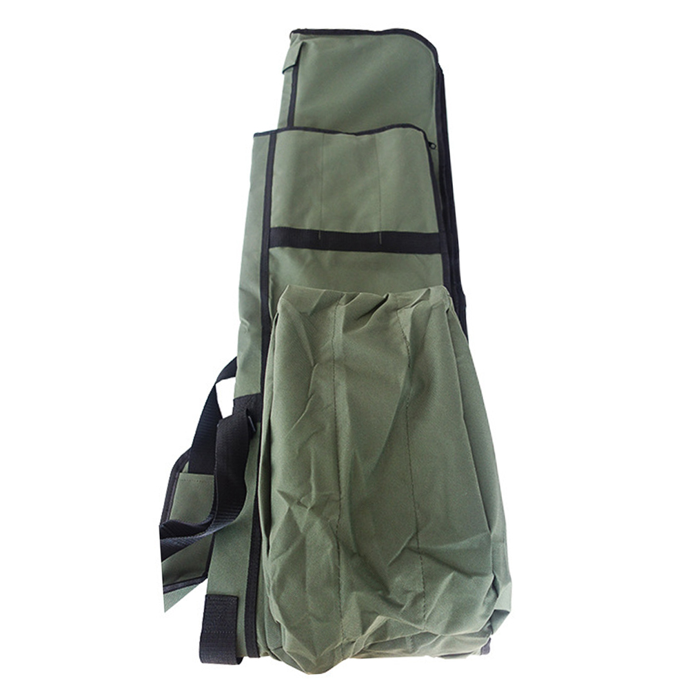 Fishing Bags 3 Fish Rods Reels Made Up Bag Padded Holdall Polyester Adjustable Strap Rod Bags <font><b>Carp</b></font> Fishing Tackle Tools