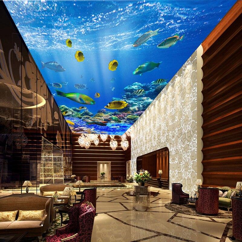 Custom Mural Wallpaper HD Beautiful Undersea World