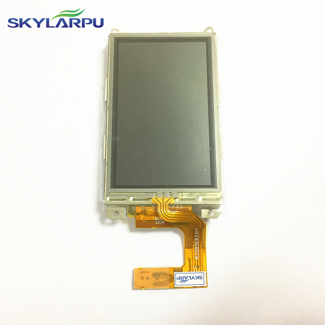 "skylarpu 3"" inch LCD screen for Garmin Alpha 100 hound tracker handheld GPS LCD display screen with touch screen digitizer panel"