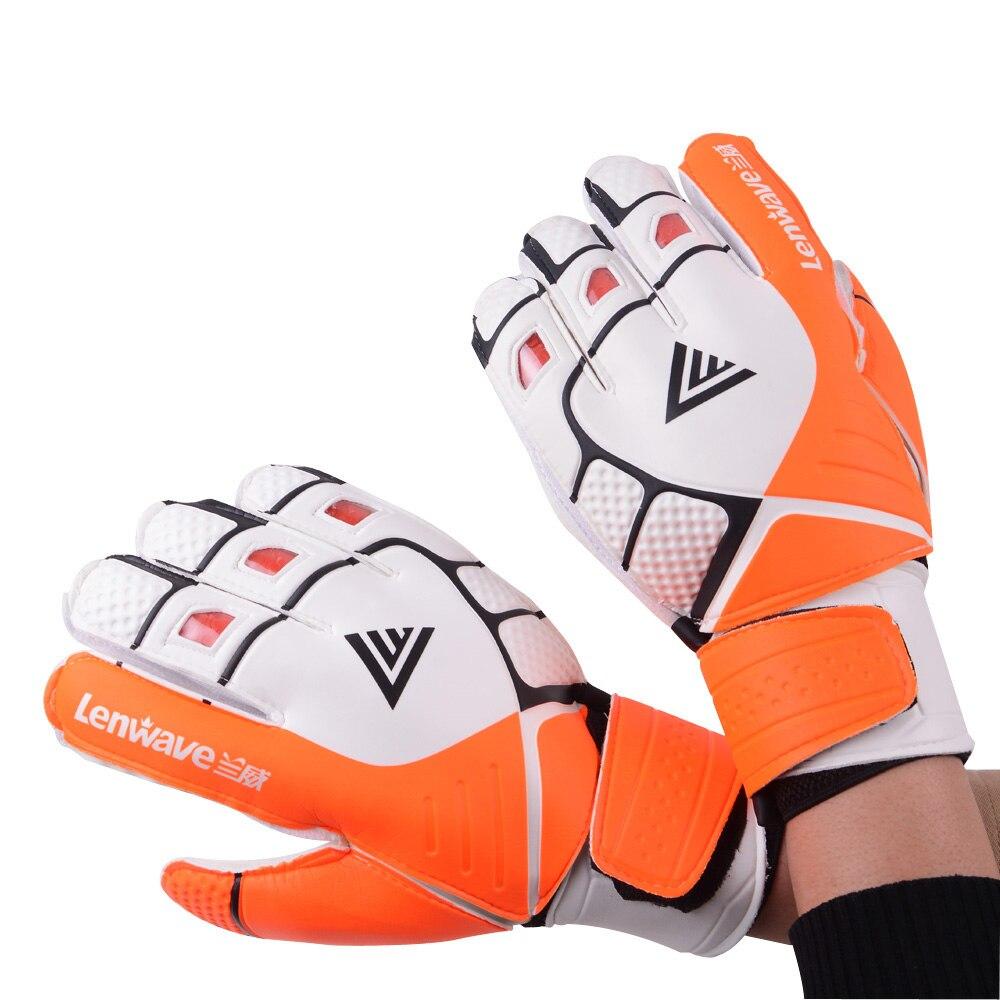 Allround Latex Soccer Goalkeeper Gloves Men Goalie Football Goalkeeper Gloves Size 6