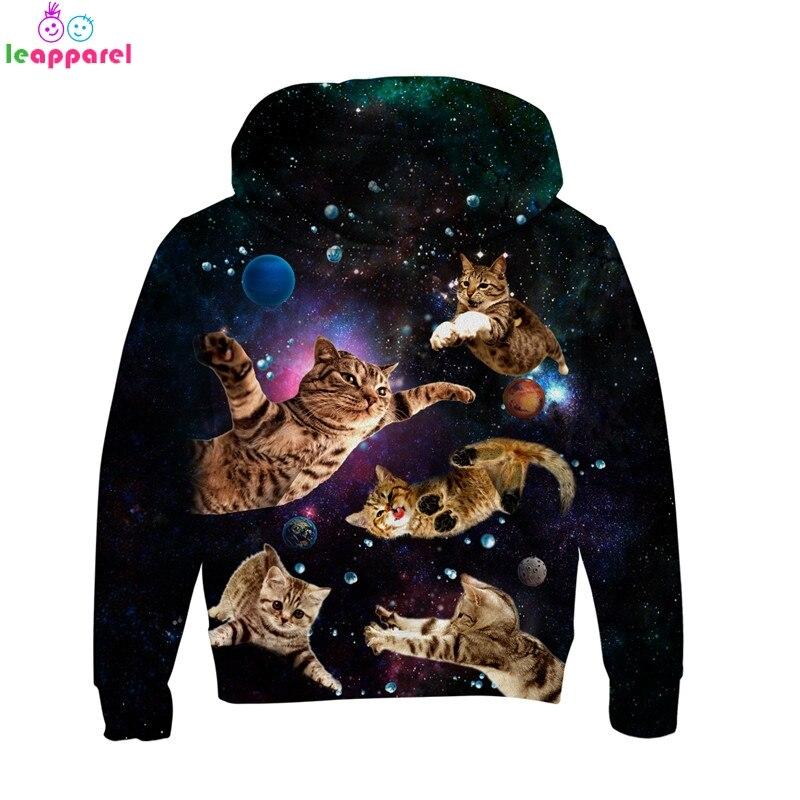 Kid Boys Girls 3D Sweatshirt Pullover Tops Long Sleeve Hoodie Jacket Coat Jumper